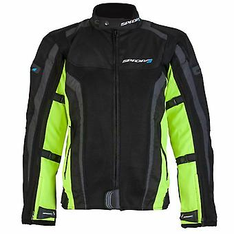 SPADA CORSA GP AIR JACKET BLACK/FLUO