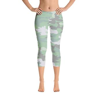 Camo Leggings, Capris en Shorts