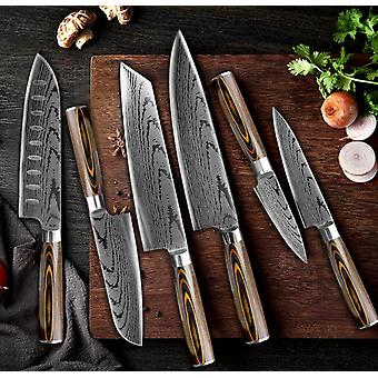 Kitchen Knife Chef Knives Japanese High Carbon Stainless Steel Imitation