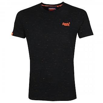 Superdry OL Vintage Ricamo SS T-Shirt Black Space T7M