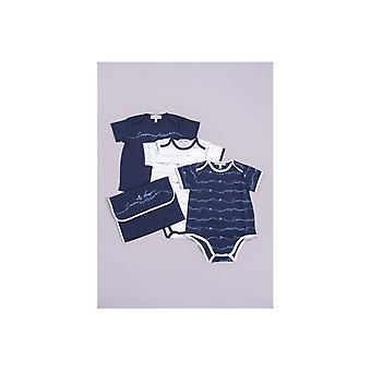 Emporio Armani Baby 3 Pack Baby Grow Gift Set