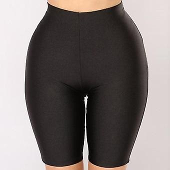 Women Cycling Shorts Dancing Gym Biker Slim Active Sports Solid Sexy Skinny