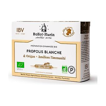 Dynamized preparation of French white organic propolis 10 ampoules of 10ml