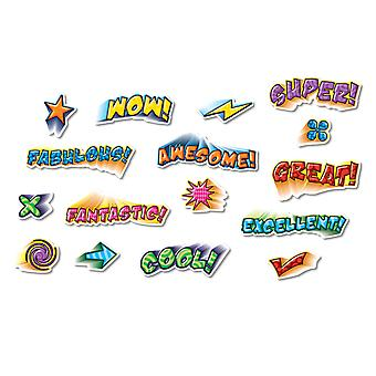 Positive Power Bulletin Board Accents, 64 Pieces