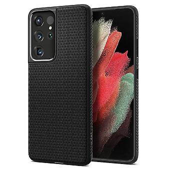 Spigen Liquid Air pour Galaxy S21 Ultra Matte Black