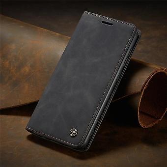 Matte Leather Flip Cover