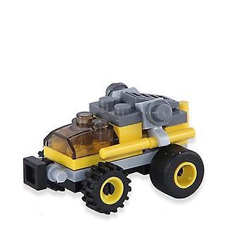 Mini Transportation Tank, Plane, Car - Educational Assembled Models Building
