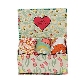 Powder Ankle Socks 3 Gift Box | Country Garden