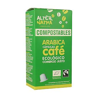 Compostable Arabica Coffee Capsule 10 capsules