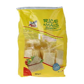 Rice and corn sandwich - Rice and corn waffles w / salt (Monoporz in bag) 250 g