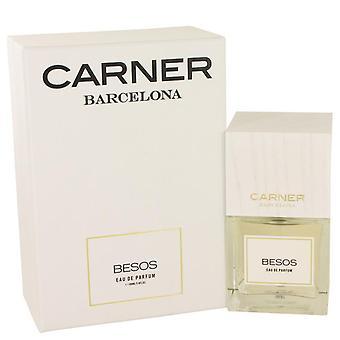 Besos Eau De Parfum Spray By Carner Barcelona 3.4 oz Eau De Parfum Spray