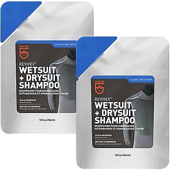 Gear Aid Revivex 10 oz. Wetsuit and Drysuit Shampoo - 2-Pack