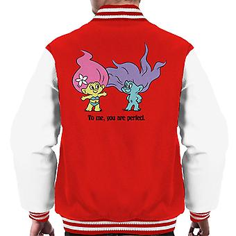 Trolls To Me You Are Perfect Men's Varsity Jacket
