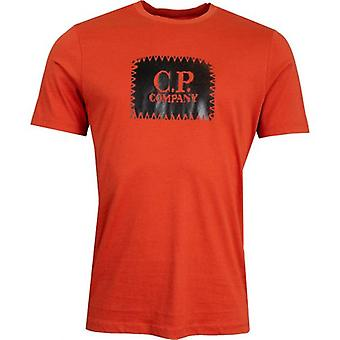 C.p Company Brand Carrier T-Shirt