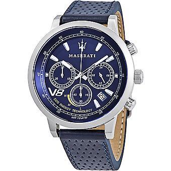 Mens Watch Maserati R8871134002, Quartz, 44mm, 10ATM