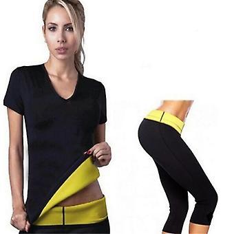 Body Shaper Panties Shorts, Corset Stretch, Neoprene Shirt