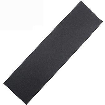 Cinta de agarre de papel de lija de cubierta de skate (negro)