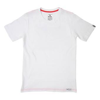 Miesten lyhythihainen T-paita OMP Valkoinen