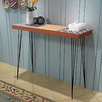 vidaXL コンソール テーブル 90x30x71,5 cm ブラウン