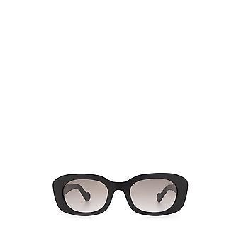 Moncler ML0123 gafas de sol negras brillantes