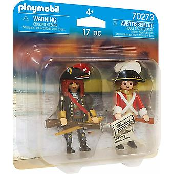 Playmobil Duo Pirate and Redcoat 70273 Age 4 - 10