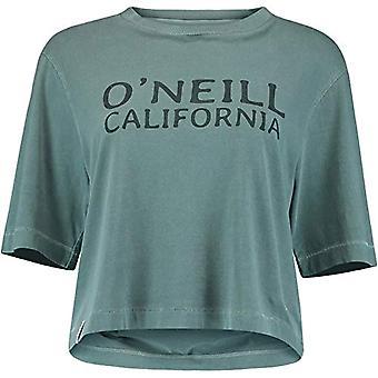 O'NEILL LW Cropped Big Logo Women's Short Sleeve T-shirt, Women,, 0P7314-6155-M, Balm, M