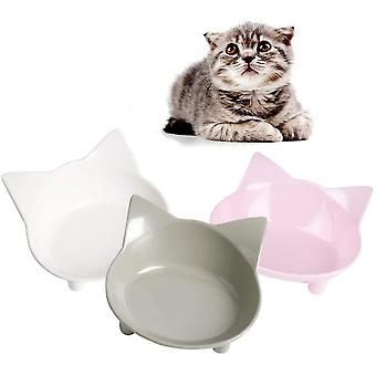 Katzennäpfe, 3 Stück Futternapf Katze, Futternapf Katze Set, rutschfeste Katzenschale,