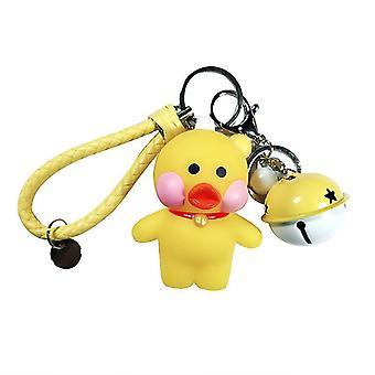 Bear Bag Pendant Vinyl Keychain Key Ring Key Chain Backpack Ornament