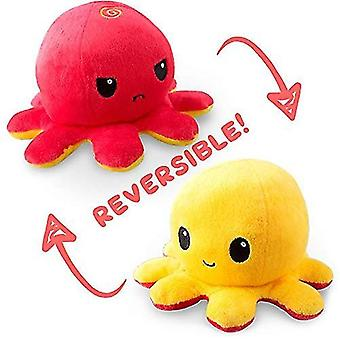 Reversible octopulushie black gray show your mood without saying a word pl-41