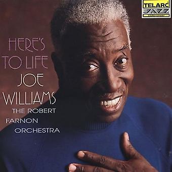 Joe Williams - Here's to Life [CD] USA import
