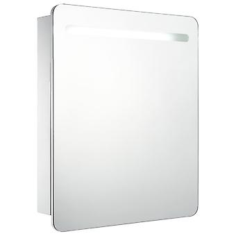 vidaXL LED badkamer spiegelkast 68 x 9 x 80 cm