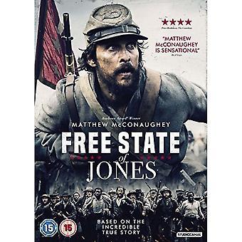 Gratis State of Jones DVD