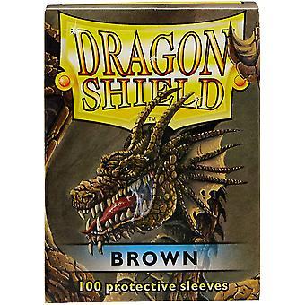 Dragon Shield Standard Brown Card Sleeves - 100 Sleeves