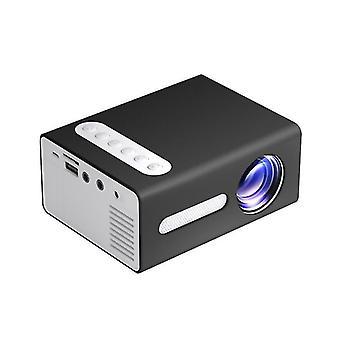 TOPRECIS T300 LED Mini Projektor Przenośny LCD 1080P Obsługiwane Office Home Children Cinema