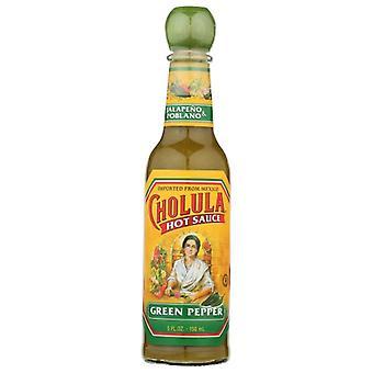Cholula Sauce Hot Grn Pppr, Case of 12 X 5 Oz