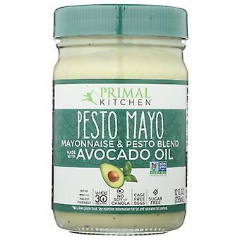 Primal Kitchen Mayo Pesto Avocado Oil, Case of 6 X 12 Oz