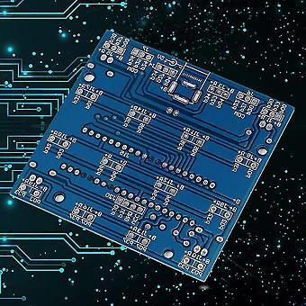 Holdbart 4*4*4*4D Led Light Squared Blue Ray Led Cube Diy Pcb Board Kit Sæt