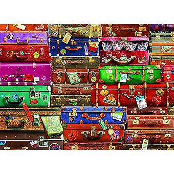 Eurographics Travel Valises Puzzle (1000 Pièces)