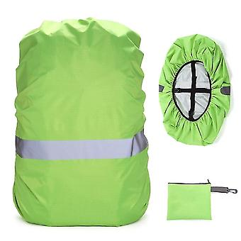 Backpack cover with reflective strip