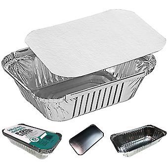 96X aluminium foil baking trays containers