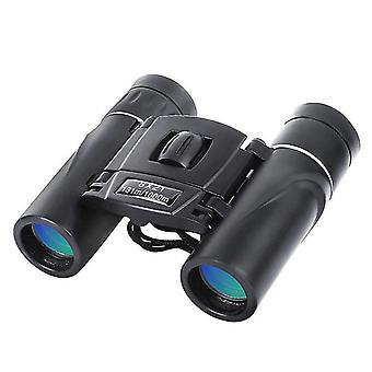 8x21 Mini-Fernglas, hohe Vergrößerung und hohe Auflösung, (schwarz)