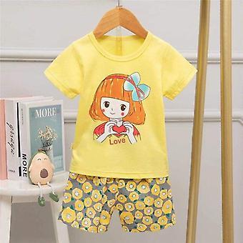Disney Mikki Hiiri Pyjama, Yksisarvinen Anime Shortsit Sleepwear - 2