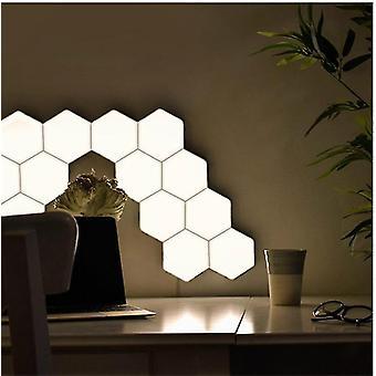 Quantum Led Sekskant Modular Captivative Touch - Magnetisk væglampe