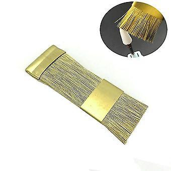 מברשת ניקוי עבור חתיכות מקדחה ציפורניים חשמליות