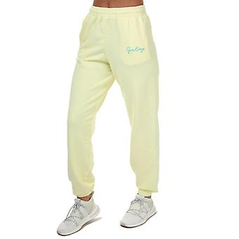 Women's Gym King Ambition Jog Pants in Yellow