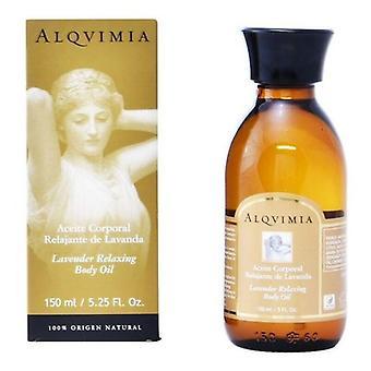 Avslappnande kroppsolja Lavendelolja Alqvimia (150 ml)