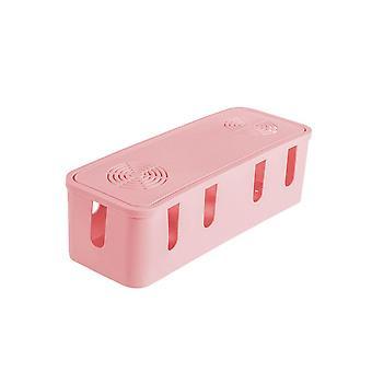 תיבת אחסון חוט ניהול שקע מסודר סדר מארגן בטיחות בית מיכל ניהול כבלים במקרה