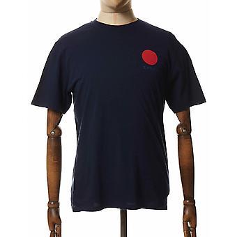 Edwin Jeans Japanska Sun Tee - Navy Blazer