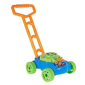 Bubble blowing toys children's hand push bubble car bubble lawn mower outdoor toy walker push bubble machine