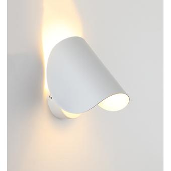 Wall Light Creative Led Bedside Wall Light Indoor Hotel Aisle Hallway Staircase Living Room Background Wall Light  White, 5w, Cold White Light  16.5 *